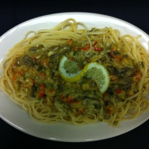 Crawfish Linguine