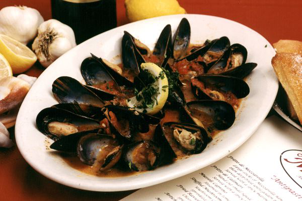 Mussels Caprino